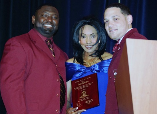 Citizen of the Year Award from Kappa Alpha Psi Fraternity