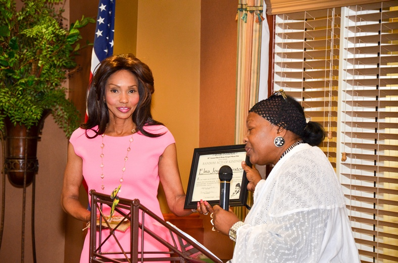 Elma Hairston received  the 2015 Random Acts of Kindness Award Presented by Sister